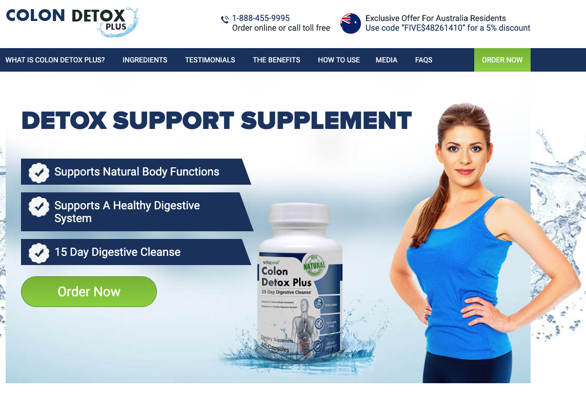 Colon Detox Plus Australia