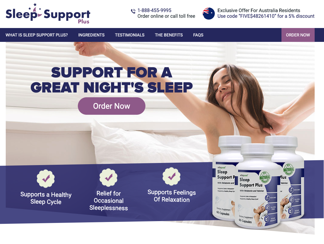 Sleep Support Plus Australia